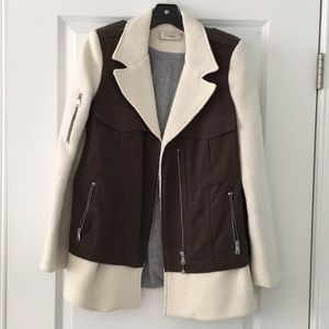Zara Military inspired coat size M